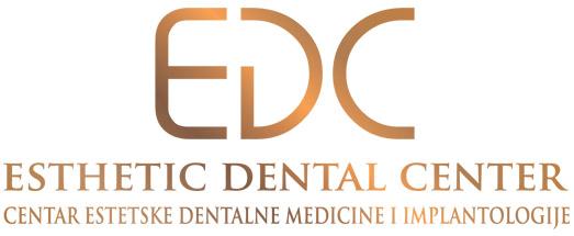 EDC logo Centar Estetske Dentalne medicine i implantologije